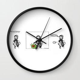 Good Hug Wall Clock
