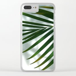 Palm Shadow Clear iPhone Case