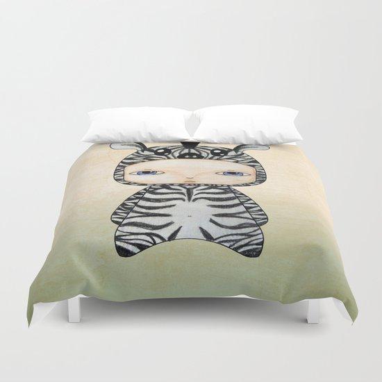A Boy - Zebra Duvet Cover