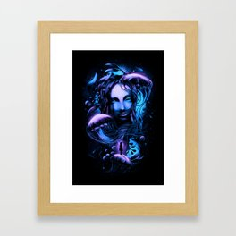 Ocean of Secrets Framed Art Print