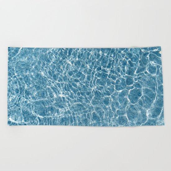 Water Surface Beach Towel