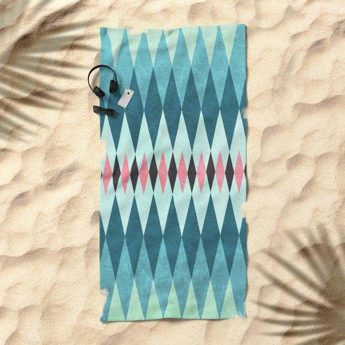 Tribal IX Beach Towel