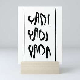 Yadi yadi yada Mini Art Print