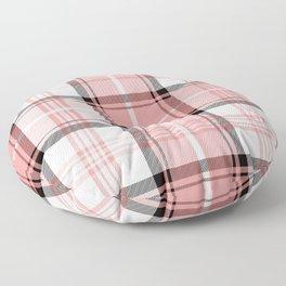 Pink Tartan Floor Pillow