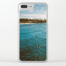 Patience Clear iPhone Case