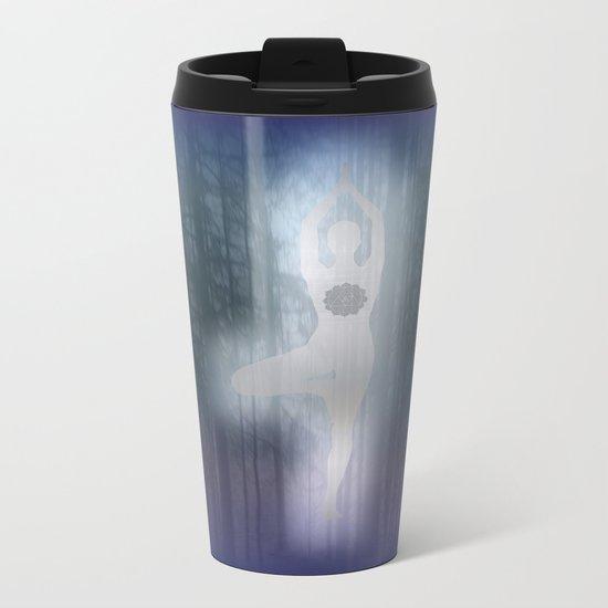 Forest Yoga Metal Travel Mug