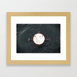 bollard Framed Art Print