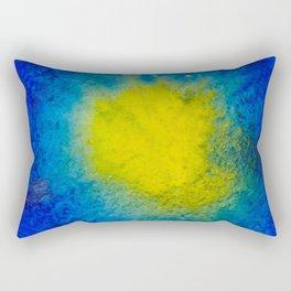 Sea Mirrors The Moon Rectangular Pillow