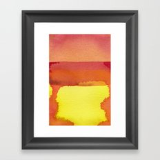 color field one Framed Art Print