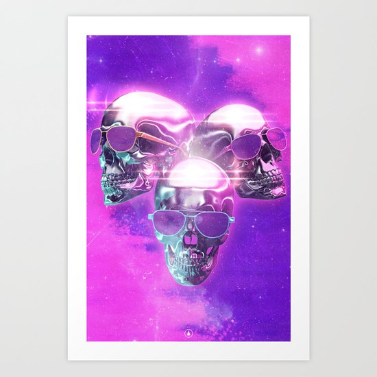 Miami Horror Art Print
