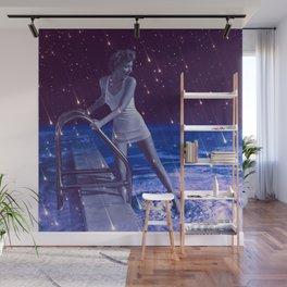 Space Dip Wall Mural