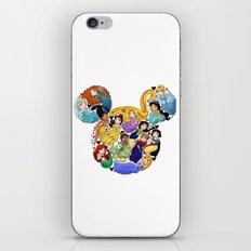Princess Mickey Ears iPhone & iPod Skin