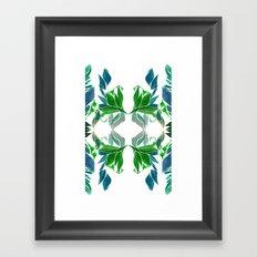 Art Nouveau Pattern  Framed Art Print