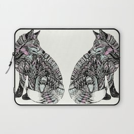 psychedelic fox Laptop Sleeve