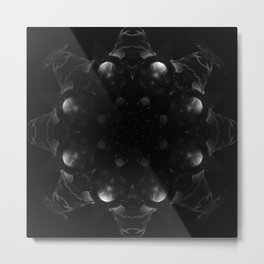 Mandala Obscura Metal Print