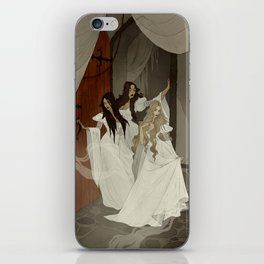Those Weird Sisters iPhone Skin