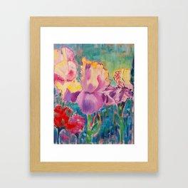 Iris thou art most fair Framed Art Print