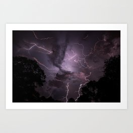 Wild Skies Art Print