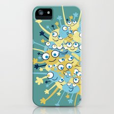 Bubbly Creatures Print Slim Case iPhone (5, 5s)