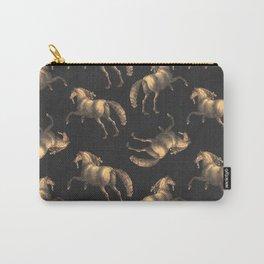 Golden Renaissance Horses Carry-All Pouch