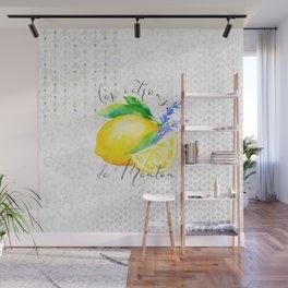 Les Citrons de Menton—Lemons from Menton, Côte d'Azur Wall Mural