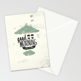 Good morning 02 Stationery Cards