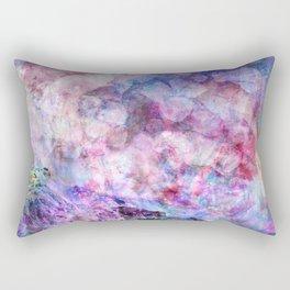 Waves in nature lilac Rectangular Pillow