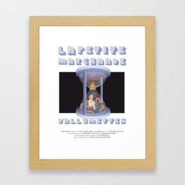 La Petite Marchande d'Allumettes Framed Art Print
