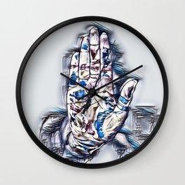 Hide Me Wall Clock