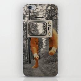Wichtige Fragen der Menschheit · Neulich beim wandern... iPhone Skin