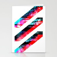 prism Stationery Cards featuring PRISM³ by DREW WISE