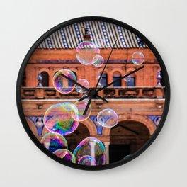 My Bubbles Wall Clock