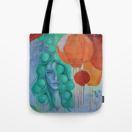 NIGHTMARKET Tote Bag