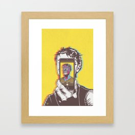 #Conform #Consume #Obey Framed Art Print