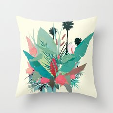 P A L M S P R I N G S Throw Pillow
