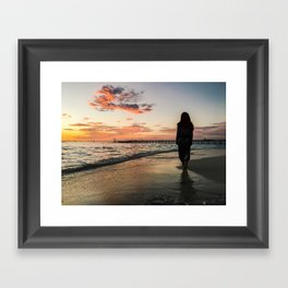 In to the Hues Framed Art Print