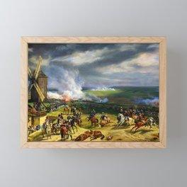 Horace Vernet - Battle Of Valmy - Digital Remastered Edition Framed Mini Art Print