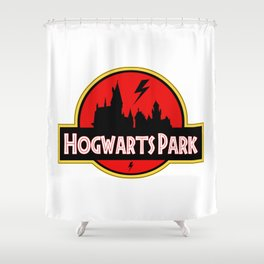 Hogwart Park Shower Curtain