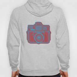 I Still Shoot Film Holga Logo - Blue & Red Hoody