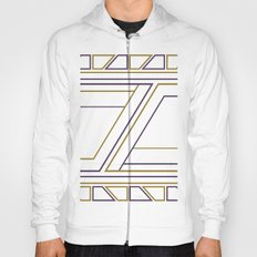 Geometry on white (abstract) Hoody