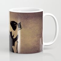 camel Mugs featuring camel by Mono Ahn
