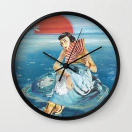 La Isla Bonita // Island Girl Wall Clock