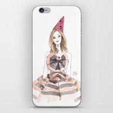 Christian Lacroix for Schiaparelli Fashion Illustration iPhone & iPod Skin