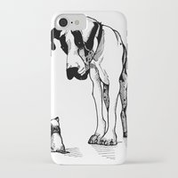 great dane iPhone & iPod Cases featuring Great Dane by Mr Shins