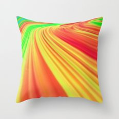 The Race Against Time Throw Pillow
