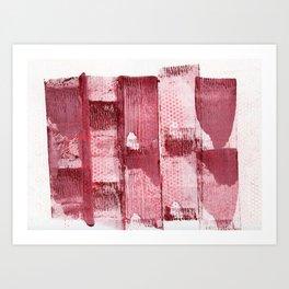 Polka Dot Roll Art Print