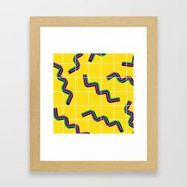 Springs gone wild Framed Art Print