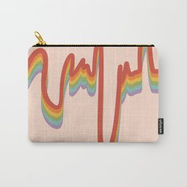 Rainbow Stripes 5 Carry-All Pouch