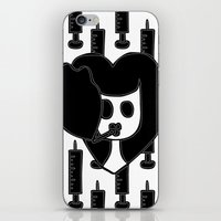 pulp fiction iPhone & iPod Skins featuring Pulp Fiction by Sky Nash