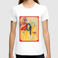 new year T-shirts featuring new year by luiza13